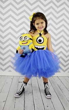 Despicable me minion dress...Minion tutu by TutullyCuteDesigns