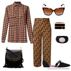 Pijama Palazzo! Veja post completo em www.carolinedemolin.com.br. #moda #fashion #tendencias #trend #personalstylist #personalstylistbh #consultoriademoda #consultoriadeimagem #imagem #identidade #fashionblogger #looks #lookdodia #lookoftheday #estilo #style # #loveshoes #shoes  #bags #lovebags #prints   #acessorios #andreamarques #chloe #reinaldolourenço #dolcegabbana #aureliebidermann  #www.carolinedemolin.com.br