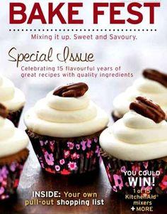 FREE Bake Fest e-Cookbook!