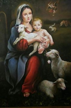 Holly Pictures, Pictures Of Mary, Mother Mary Images, Images Of Mary, Blessed Mother Mary, Blessed Virgin Mary, Religious Images, Religious Art, Our Lady Of Sorrows