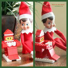 Elf on the Shelf- Lego elf!