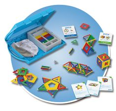 By reinforcing the concepts of Euclidean geometry with 2D polygons, 3D forms and much more as they build concrete models and make real-life comparisons, students then enjoy elaborating their models in