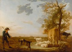 Aelbert Cuyp | File:Aelbert Cuyp - Landscape with cattle - Google Art Project.jpg