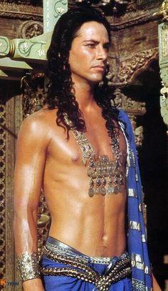 Little Buddha movie. Keanu Reeves as Prince Siddhartha.