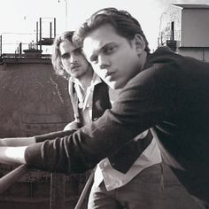 Landon Liboiron and Bill Skarsgard