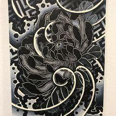 irezumi chrysanthemum With pattern design.thank u . Japanese Flower Tattoo, Japanese Dragon Tattoos, Japanese Sleeve Tattoos, Japanese Flowers, 1 Tattoo, Yakuza Tattoo, Tattoo Drawings, Samoan Tattoo, Polynesian Tattoos