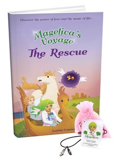 Magelica's Voyage : the Rescue  is book #2. #kidlit  Review link: https://www.goodreads.com/review/show/1424868311