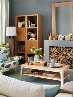 Looking for new living room design ideas? We've collected 35 of the very best living rooms from top designers to get you inspired. Retro Living Rooms, Casual Living Rooms, Living Room Grey, Living Room Designs, Living Room Decor, Modern Living, Dining Room, Wooden Living Room Furniture, Decoration Gris