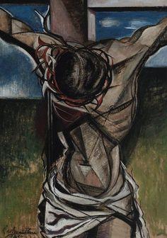 roy de maistre | An image of The crucifixion by Roy de Maistre