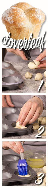 how to make cloverleaf rolls
