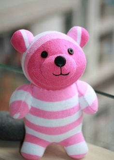 Handmade bear stuffed animal baby Home Decor toys by Toyapartment, $15.90