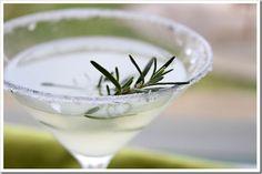 Rosemary Lemon Drop Martini | Doughmesstic