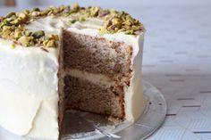 Chai & Pistachio Cake