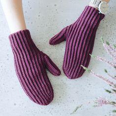 Crochet pattern: Ribbon mittens by Svetlana Kochkina