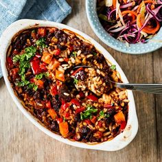 Oven Cooking, Healthy Cooking, Just Eat It, I Love Food, Risotto, Vegetarian Recipes, Food Porn, Food And Drink, Yummy Food