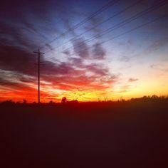 More Australian sunrises. #lavueltaalmundosinprisas #aroundtheworldunhurried #lavueltaalmundo #aroundtheworld #amanecer #sunrise #cielo #sky #mooroopna #shepparton #melbourne #Australia #viaje #trip #travel #journey #viajero #traveler