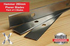 >>>> 3 Pair 10% discount <<<<  #HAMMER 260mm #Planer #knives Cobalt HS 18% 3 PER PACK  PRICE INC VAT: £67.47 http://www.ebay.co.uk/itm/HAMMER-260mm-Planer-knives-Cobalt-HS-18-INC-VAT-3-PER-PACK-/151014369446?pt=UK_Home_Garden_PowerTools_SM==item68cf9e3392