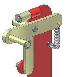 Information and ideas for DIY 2 x 72 belt grinder / sander making for woodworking, metal, and knife making Metal Working Tools, Metal Tools, Metal Projects, Welding Projects, Craft Projects, 2x72 Belt Grinder Plans, Diy Belt Sander, Knife Grinder, Global Knife Set