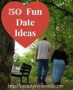 50 Fun Date Ideas - Beauty in the Mess - I love this list! A handy one to keep as a reference when you can't think of anything new to do.