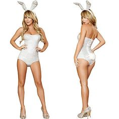 genuine roma product sexy adult playboy bunny classic animal halloween costume - Halloween Costumes Playboy