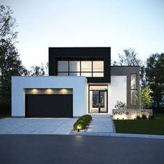 Luxury Homes - Charleston 2 Storey House Design, Modern House Design, Minimalist Architecture, Modern Architecture House, Facade Design, New Home Designs, Facade House, Luxury Homes, Building A House