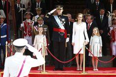 Coronación del nuevo monarca de España, Felipe VI