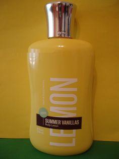 Bath+and+Body+Works+Lemon+Vanilla+Body+Lotion+Full+Size