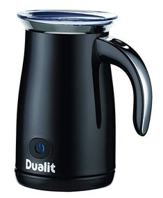 Compare cheapest prices for used Dualit 84135 Milk Frother in Black in UK & IE by top retailers retail selling Dualit 84135 Milk Frother in Black. Buy used Dualit 84135 Milk Frother in Black for best price today by comparing prices at UK Price Comparison. Espresso Kitchen, Thing 1, Chrome Handles, Black Milk, Cold Steel, Home Living, The Fresh, Hot Chocolate, Kettle