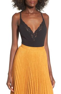 Check out the Missguided Lace Trim Bodysuit from Nordstrom: http://shop.nordstrom.com/S/4418813