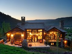 When I save up 16 Million, I will buy this little slope side chalet that has horse property:)