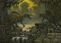 Avarusaurus. Gladiodon (king kong) by ABelov2014 on DeviantArt King Kong Skull Island, Aliens, Reptiles, All Godzilla Monsters, The Lost World, Extinct Animals, Prehistoric Creatures, Prehistory, Fauna