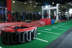High-quality flooring sets the tone at Lifestyle Fitness