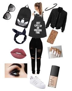 """""""Untitled #1"""" by maddison-ormerod ❤ liked on Polyvore featuring beauty, LE3NO, adidas, Topshop, Felony Case, NIKE, Alexander McQueen, Boohoo, Carbon & Hyde and Lime Crime"""