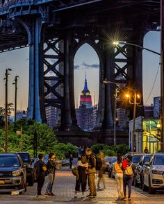 DUMBO Brooklyn Nyc, Brooklyn Bridge, The Places Youll Go, Places To Go, Nyc Go, I Love Nyc, New York City Travel, City Aesthetic, Dream City