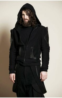 Check out the Fall/Winter 2012 collection from New York menswear designer Asher Levine. Dark Fashion, Gothic Fashion, Mens Fashion, Fashion Menswear, Steampunk Fashion, Gothic Clothing Uk, Steampunk Clothing, Party In Berlin, Gothic Men