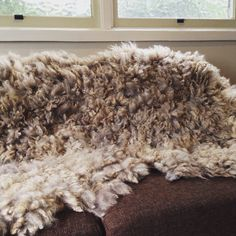 Another Wool Island Rug Throw Found A New Home Looks Nice And Cosy Feltin