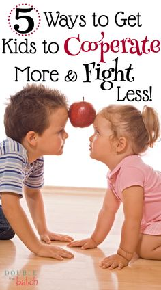 5 Ways to Get Kids to Cooperate More and Fight Less! - 5 Ways to Get Kids to Cooperate More and Fight Less! Positive Parenting Tools: 5 ways to get kids to cooperate more and fight less. Kids And Parenting, Parenting Hacks, Parenting Classes, Peaceful Parenting, Parenting Styles, Gentle Parenting, Parenting Quotes, Parenting Plan, Parents