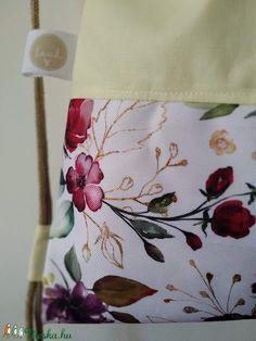 Virágszál kollekció, vajkrém rózsák hátizsák, impregnált textil (laudi) - Meska.hu Textiles, Apron, Diy, Fashion, Moda, Bricolage, Fashion Styles, Pinafore Apron, Handyman Projects