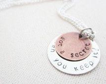 Got a Secret, Can You Keep It? Necklace - Pretty Little Liars Gift - Silver Plated or Sterling Silver