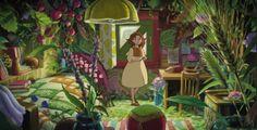 The secret world of Arrietty,,2010  Studio Ghibli .