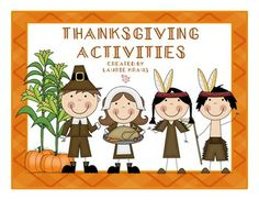 Thanksgiving activities galore!  TpT