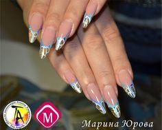 Nails by Magnetic Ten Angels Ukraine!