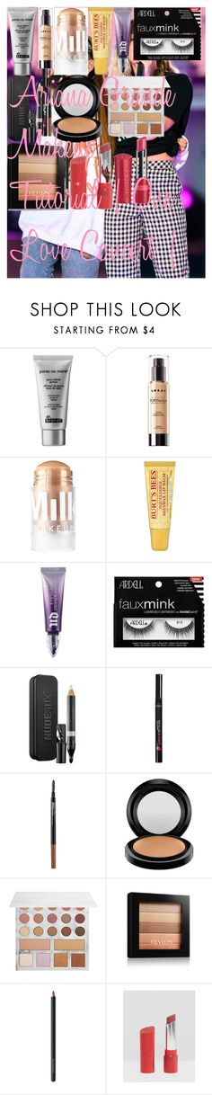 """""""Ariana Grande Makeup Tutorial   One Love Concert  """" by oroartye-1 on Polyvore featuring beauty, Justin Bieber, Dr. Brandt, LORAC, MILK MAKEUP, Urban Decay, Ardell, Nudestix, L'Oréal Paris and Maybelline"""