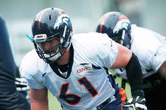 Matt Paradis not lost at center for Denver Broncos