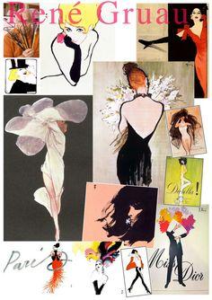 » Fashion Illustrations | Rene Gruau