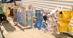 An great article about how to afford cloth diapering... several links to assistance programs and re-sale websites.