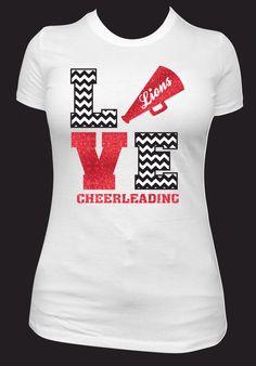 cheer spirit shirt by neonleoparddesigns on etsy httpswwwetsycom - School Spirit T Shirt Design Ideas