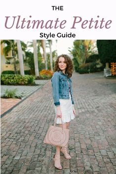 From styling tips to shopping hacks, I compiled all of my petite fashion knowledge into the ultimate petite style guide. See more on http://kyleneverywear.com