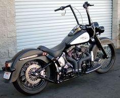 Harley-Davidson : Softail Deluxe. Killer