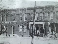 "St. Asaph Hotel - Stanford, KY - popular ""watering hole"" until closed due to prohibition. Sold in 1910 for $7500."